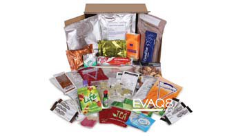 Genuine Military Style 24 hour Ration Pack British Army | Ration Packs and MRE food from EVAQ8 the UK's Emergency Preparedness specialist